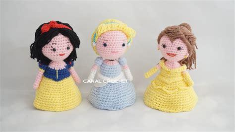 amigurumi princesas canal crochet princesas amigurumis tutorial