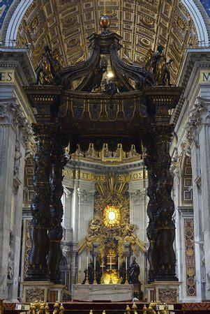 baldacchino di san pietro baldacchino di san pietro di bernini 바티칸 시국