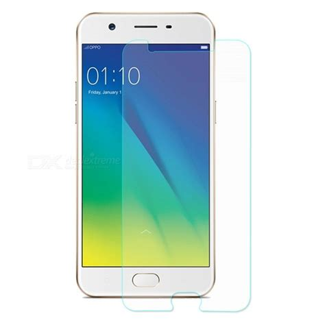Tempered Glass Oppo A57 Screen Guard enkay 2 5d tempered glass screen protector for oppo a57 free shipping dealextreme