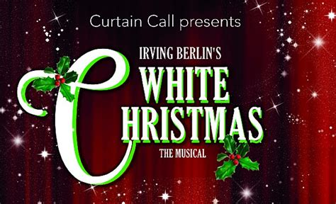 curtain call review review quot white christmas quot by curtain call crewe lyceum