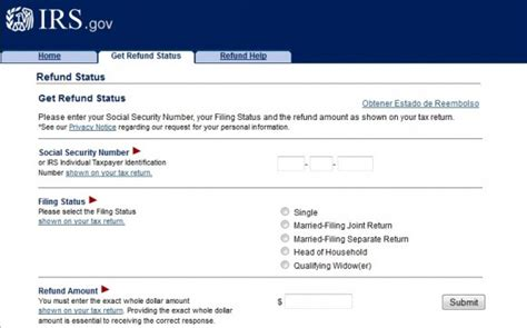 www irs govov some more info about irs gov check status of tax return