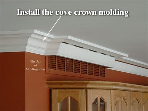 guide to custom trim molding installation be the pro 38 crown molding on air vent victorian style 106 the joy