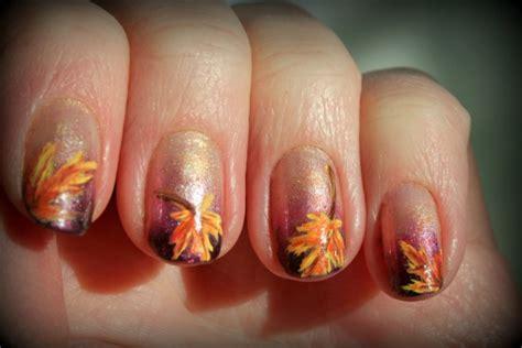 leaf pattern nails 35 leaf nail art ideas nenuno creative