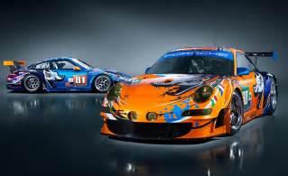 Porsche Motorsports Flying Lizard Pays Tribute To Porsche S Le Mans History