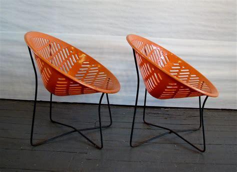 orange patio solair orange chairs specializing in mid century
