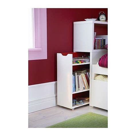 great idea use a flaxa headboard storage unit as a side komplement pull out tray with jewellery insert white red
