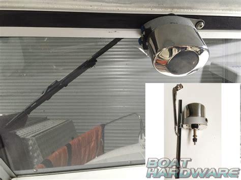 Windshield Wiper Motor Kit ssteel windscreen windshield wiper motor kit set marine
