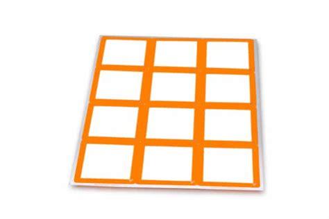 orange removable stickers