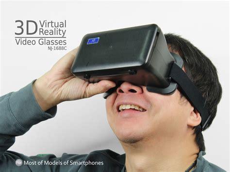 Kacamata 3d Reality Vr Max Zoom Glasses For Smartphone 3d reality glasses nj 1688c