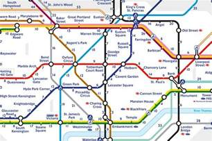 Euston To Vauxhall New Map Reveals How It Takes To Walk Between