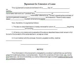 Extending Rental Car Agreement Assignment Contract Form
