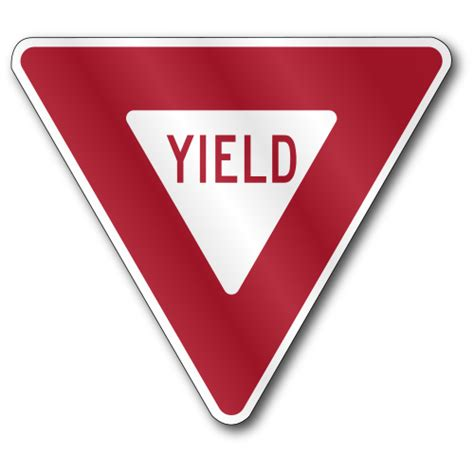 yield sign color yield sign www imgkid the image kid has it