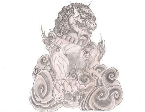 foo dog tattoo by shadownexu5 on deviantart