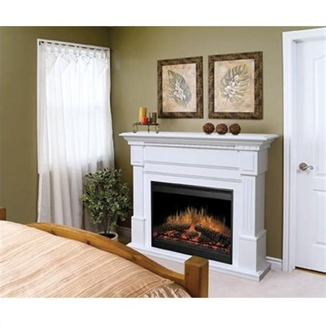 Essex Fireplaces by Dimplex Essex Electric Fireplace In White Gds30 1086w