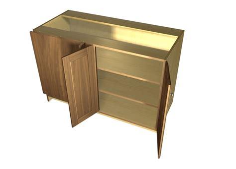 blind corner base cabinet 2 door blind corner base cabinet hinged left
