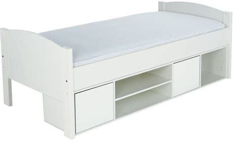 Stompa Bed Shelf by Buy Stompa Storage Cabin Bed With White Headboard And
