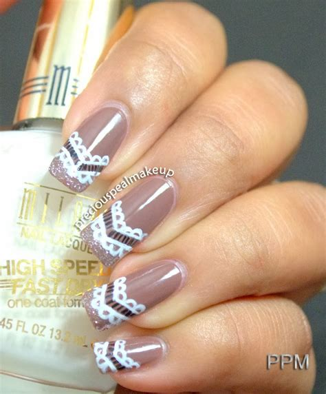 lace pattern on nails preciouspearlmakeup lace pattern nails