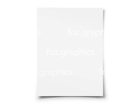What Makes A White Paper - blank white paper png fox graphics