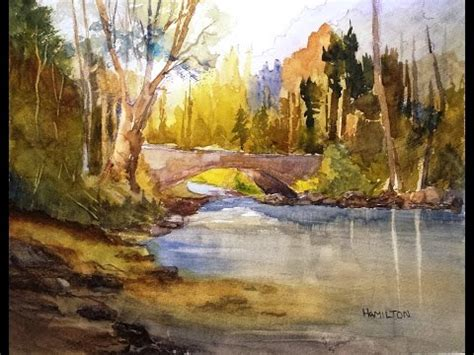watercolor tutorials larry hamilton how to paint watercolors free videos foundmyself