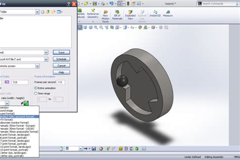 tutorial solidworks motion 2012 tutorial basic motion in solidworks grabcad