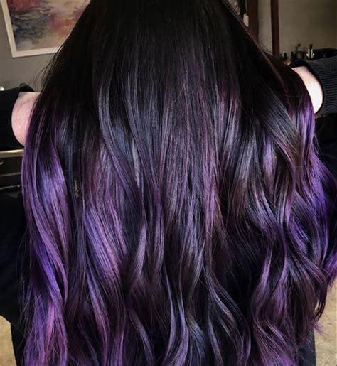 blackberry dark purple hair color trend instylecom