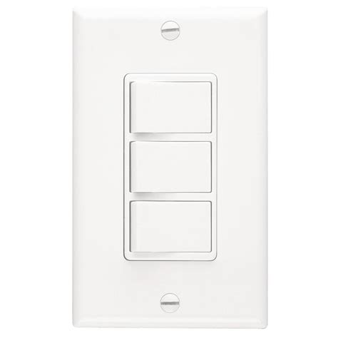 bathroom fan control switch shop broan polypropylene bath fan switch at lowes com