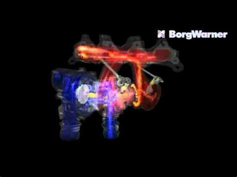 turbo charger animation borg warner k series turbo animation