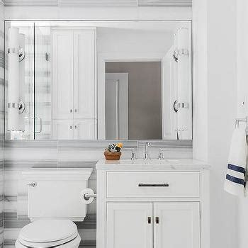 grey and white striped bathroom white and gray marble striped tiles design ideas