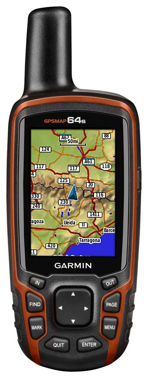 Garmin Gps 64s Black Orange garmin gpsmap 64s 2 6 quot handheld gps with built in