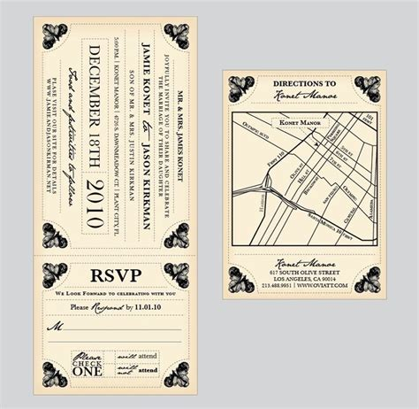 vintage train ticket template stationary pinterest