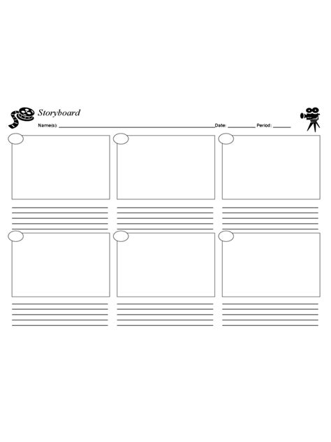 Storyboard Template 67 Free Templates In Pdf Word Excel Download Microsoft Excel Storyboard Template