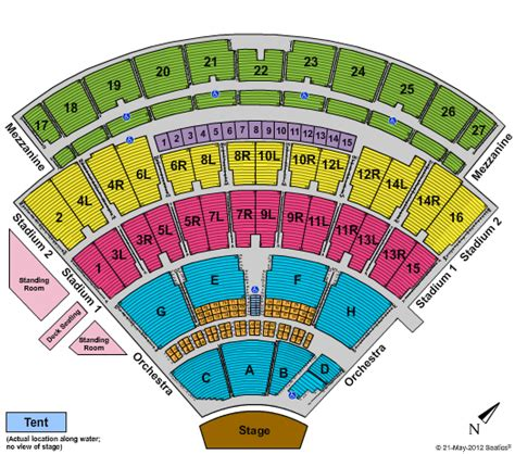 nikon theatre seating chart big time nikon at jones theater tickets big