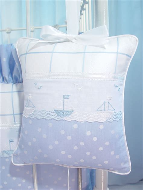 sailboat crib bedding sailboats blue crib bedding set by blauen