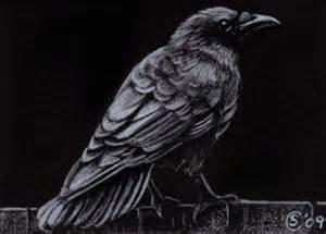 halloween ravens and crows sandrine s gallery sandrine curtiss art limited edition