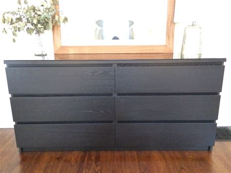 Ikea Bedroom Furniture Dressers Bedroom Contemporary Ikea Malm Dresser For Furniture With Dressers Interalle