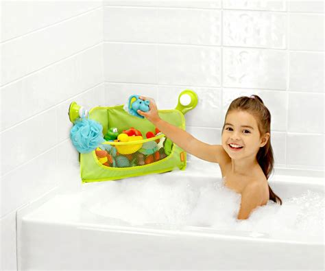 toys for bathtub amazon com brica corner bath basket toy organizer