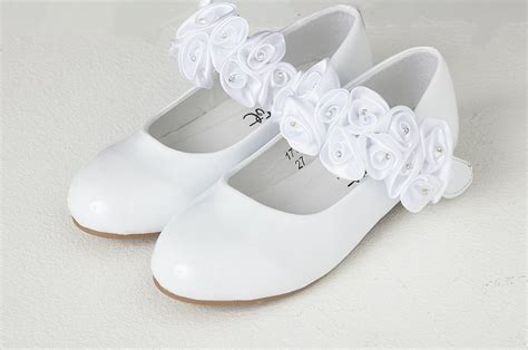 couche tot patent shoe with diamante satin flowers by couche tot