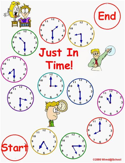 The Learning Journey Match It Time learning made easy teach your how to tell time with