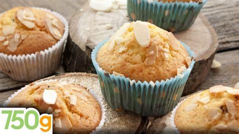 Recette De Muffins Aux Amandes 750 Grammes Youtube