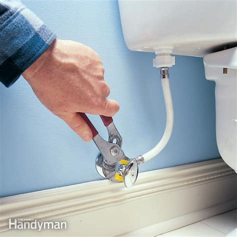 bidet leaking how to fix a leaking shutoff valve the family handyman