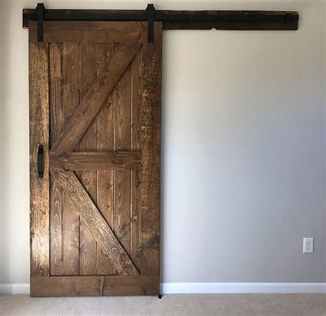 Build And Install A Sliding Barn Door Diywithrick Installing A Sliding Barn Door