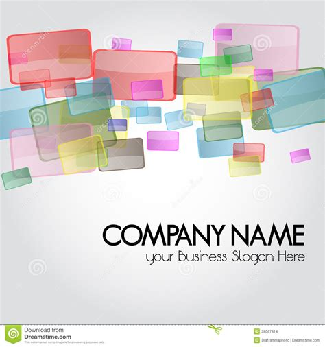 business card or design background for stationary stock