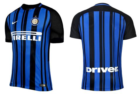 Jersey Inter Milan 2017 2018 Home by Inter Milan 2017 18 Nike Home Kit Football Fashion Org