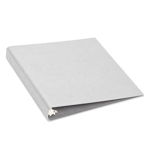 Three Ring by Bigso Light Grey Stockholm 1 Quot Three Ring Binder The
