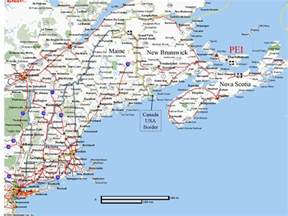map eastern us and canada map of eastern united states and canada