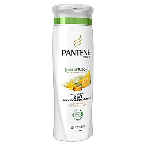 Ingredients In Pantene Detox Shoo by Pantene 174 Pro V 12 6 Oz Nature Fusion Moisturizing 2 In 1