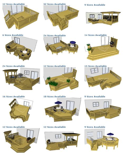 porch deck designs deck plan pictures are courtesy of