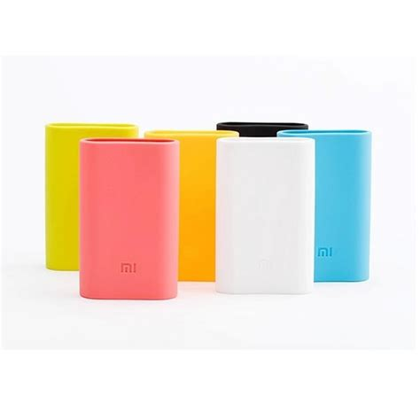 silicon cover for xiaomi power bank 5200mah green jakartanotebook