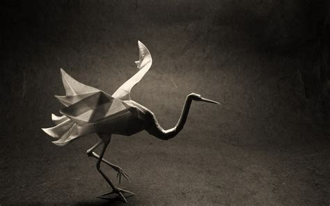 Origami Bird Crane - origami bird crane wallpapers