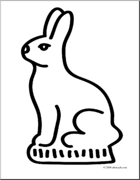 chocolate bunny coloring page chocolate bunny coloring page easter candy food